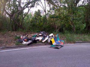 La comunidad pide no entregarle material reciclable a los recicladores informales, con el fin de evitar hechos como este. - Suministrada / GENTE DE CABECERA