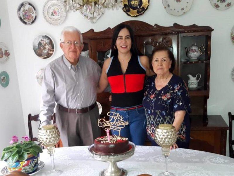 Carlos Humberto Serrano, Ángela Villarreal Pinilla y Mariela Gutiérrez Zárate. - Suministrada / GENTE DE CABECERA