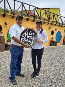 Nathalie y Juan Gabriel trabajan en la búsqueda de aliados, con los que además de hacer crecer su negocio impulsen el turismo en la Mesa de los Santos. - Suministrada / GENTE DE CABECERA