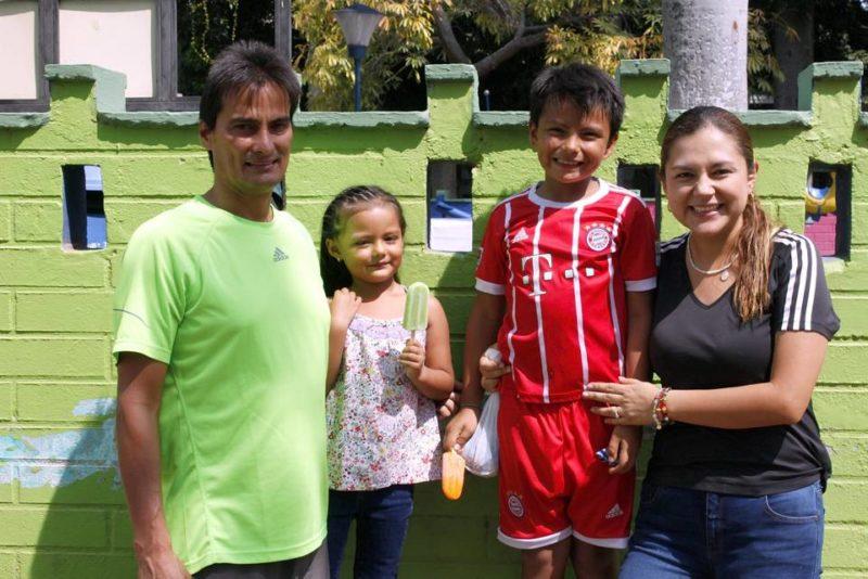 Javier Ortega, María Gabriela Ortega, Juan Felipe Ortega y Sandra Milena Buitrago. - Jaime del Río /GENTE DE CABECERA