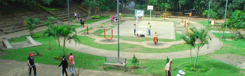 Inseguridad por consumo de estuperfacientes en parque Los Leones