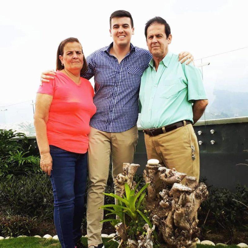 Edilma Acevedo Márquez, Diego Gómez Acevedo y Reynaldo Gómez Peña. - Suministrada / GENTE DE CABECERA