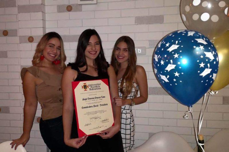 Eliana Picón, Angie O'meara Luna y María Cristina Herrera. - Suministrada / GENTE DE CABECERA