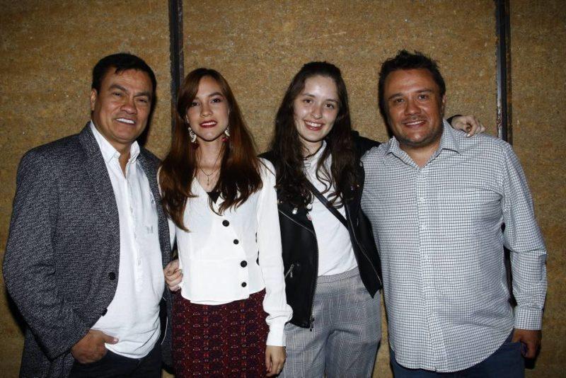 Wilson Ortiz, Natalia Acosta, Yaritza Acero y Jaime Quintero. - César Flórez / GENTE DE CABECERA