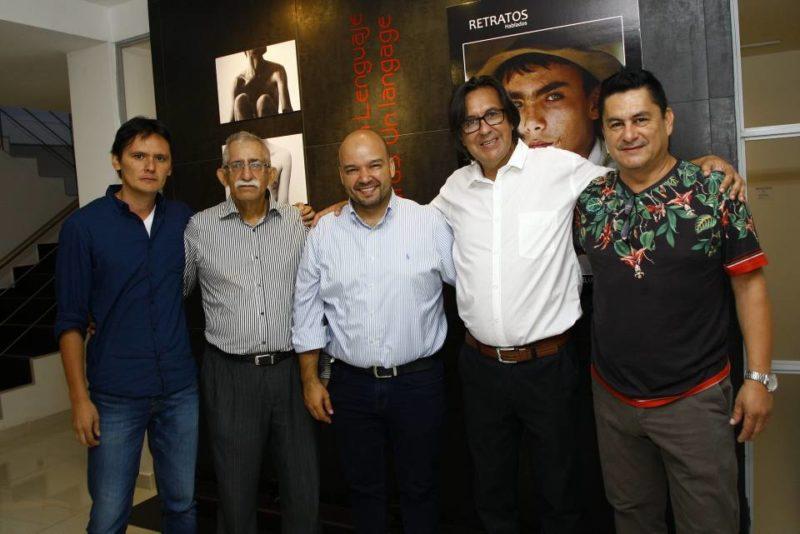 Camilo Duarte, Jorge Mendoza Pérez, Sergio Isnardo Muñoz, Mauricio Olaya y German Tolosa. - César Flórez / GENTE DE CABECERA
