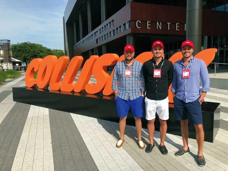 César Ramírez, ingeniero de sistemas, Jairo Serrano, Ingeniero Mecatrónico y Juan Diego Escobar, PhD en Ingeniería de Petróleos, son los creadores de la aplicación Rollin. - Suministrada / GENTE DE CABECERA