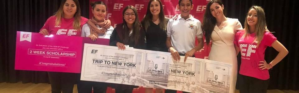 Joven bumangués ocupó primer lugar en concurso de oratoria en inglés
