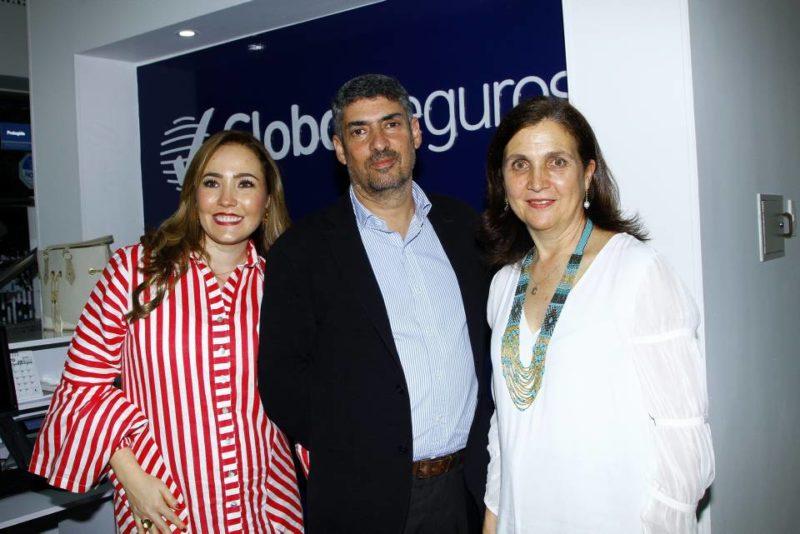 María Cristina Acevedo, gerente regional Bucaramanga; Felipe Vasquez, presidente, y Patricia Ortíz, vicepresidente Comercial. - César Flórez / GENTE DE CABECERA