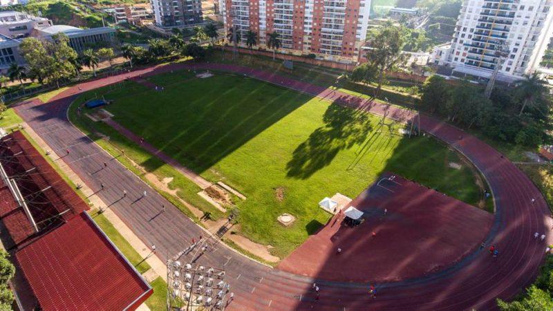 Con la remodalción de la pista de atletismo este escenario podrá ser sede de competencias nacionales e internacionales de alto rendimiento. - Tomada del Facebook Alcaldía de Bucaramanga / GENTE DE CABECERA