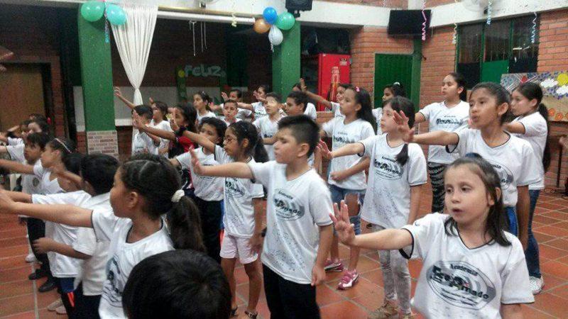 En los próximos días, la academia Ecos Amado abrirá un nuevo semillero de niños, esta vez en Real de Minas. - Suministrada / GENTE DE CABECERA