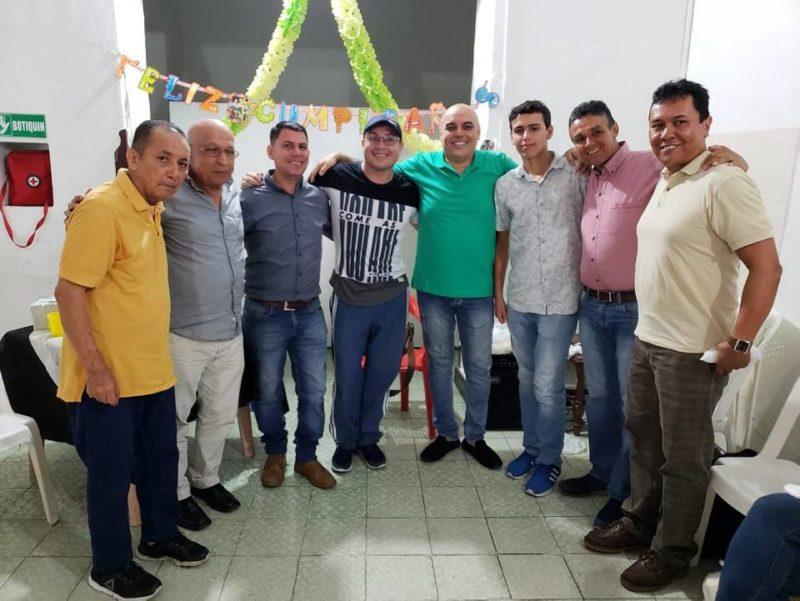 Daladier Rodríguez, Luis D Arévalo, Edgar Montañez, Javier Ordoñez, Hugo Camacho, Juan Bello, Pablo Méndez y Melvin Niño. - Suministrada / GENTE DE CABECERA