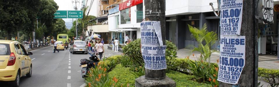 Publicidad se apodera del espacio público de Cabecera