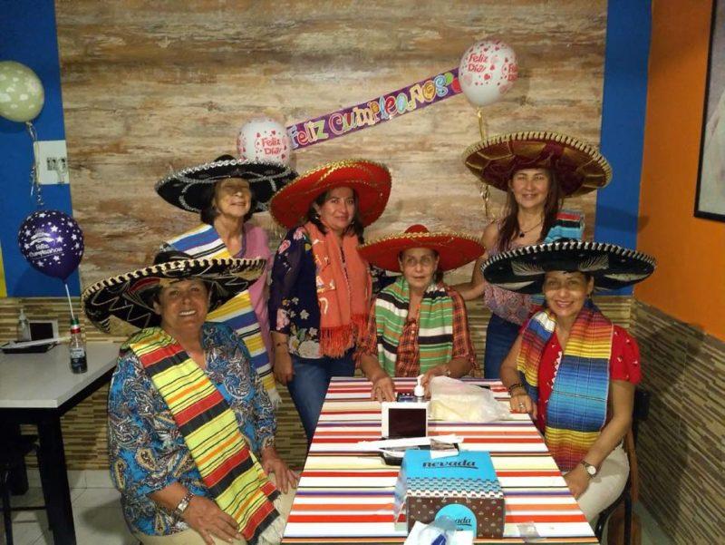 Martha de Ávila, María Cristina Botia, María Isabel Frias, Mariela Rodríguez, Yaneth Cedial y Adriana María Prada. - Suministrada / GENTE DE CABECERA