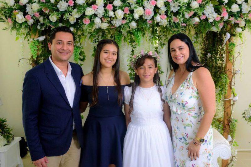Jorge Ramírez, María Paula Ramírez Murcia, María Juliana Ramírez Murcia y Marcela Murcia. - Suministrada / GENTE DE CABECERA