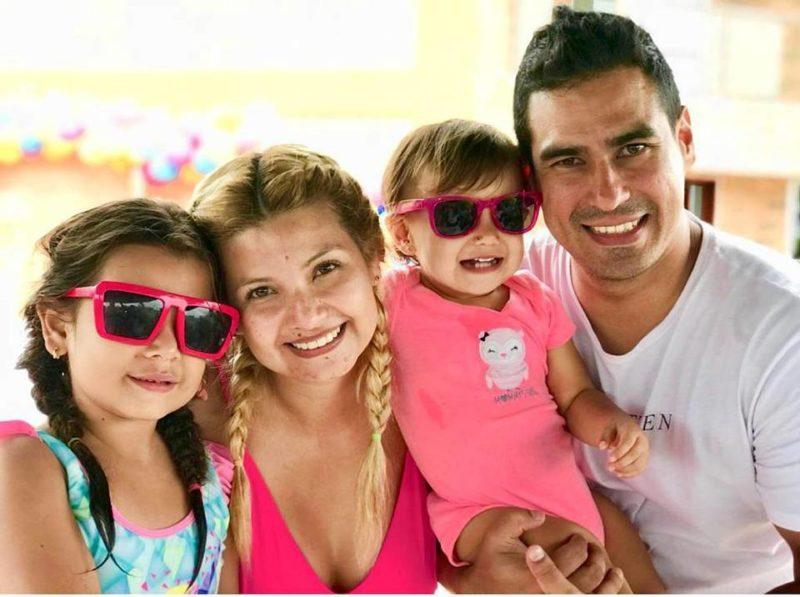 Luciana Rodríguez Rincón, Karen Rincón, Alana Ardila Rincón y David Ardila. - Suministrada / GENTE DE CABECERA