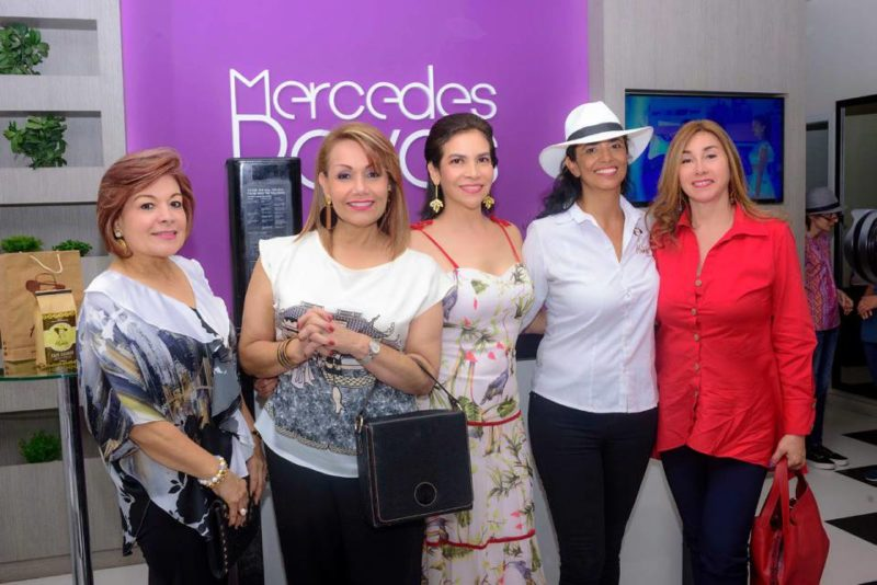 Elsa Ortiz, Liliana Ortiz, Mercedes Reyes, Claudia Monroy y Margarita Gómez. - Suministrada / GENTE DE CABECERA