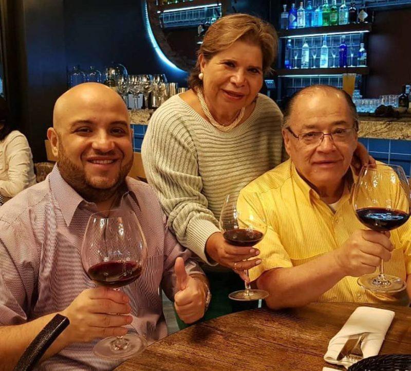 Hernando Santos Niño, Mireya Niño y Alberto Santos. - Suministrada / GENTE DE CABECERA