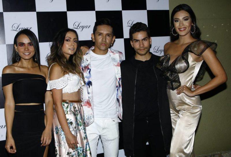 Estefany Mejía, Mary Acevedo, Carlos Leyton, Sebastián Arenas y Yenny Carrillo. - César Flórez / GENTE DE CABECERA