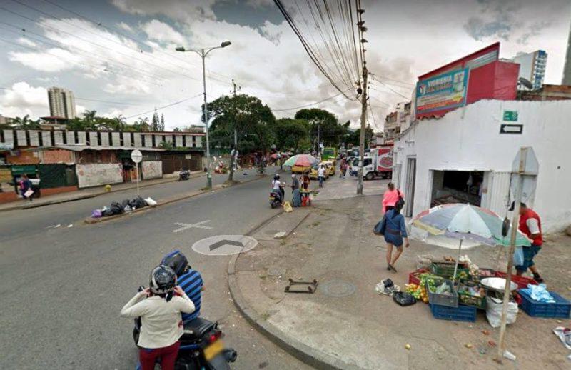 Residentes aledaños a la plaza de mercado Guarín, denuncian el alto ruido que un establecimiento comercial de ese sector genera para promocionar sus productos. - Tomada de Google Maps / GENTE DE CABECERA