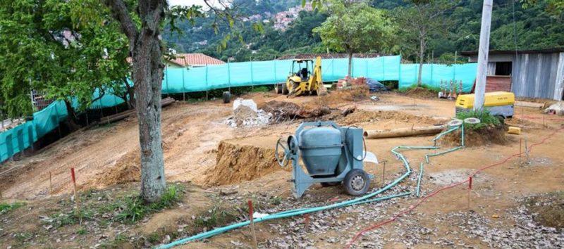 El área intervenida corresponde al predio donde se ubica el tanque de agua de Cabecera, es decir una zona superior a los 2.000 metros cuadrados. - Suministrada Alcaldía de Bucaramanga / GENTE DE CABECERA