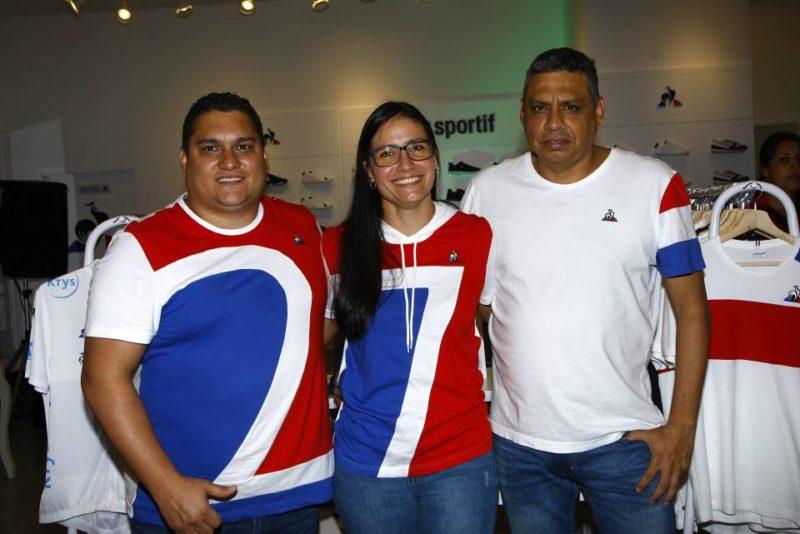 David Franco, Izbeth Naranjo y Carlos Pabón. - César Flórez / GENTE DE CABECERA