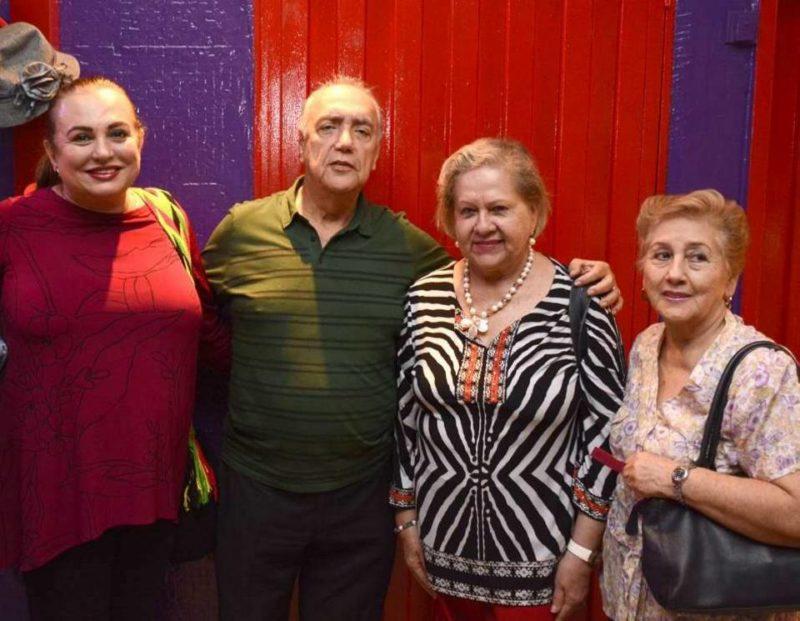 Adriana Zableth, Germán Rodríguez, Beatriz de Uribe y Lucila Lozano. - Miguel Vergel / GENTE DE CABECERA