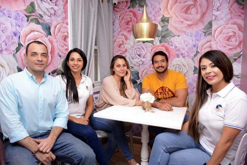 Óscar Célis, Diana Hurtado, Laura Negrón, Fabian Pérez y Carmen Urrea. - Miguel Vergel / GENTE DE CABECERA