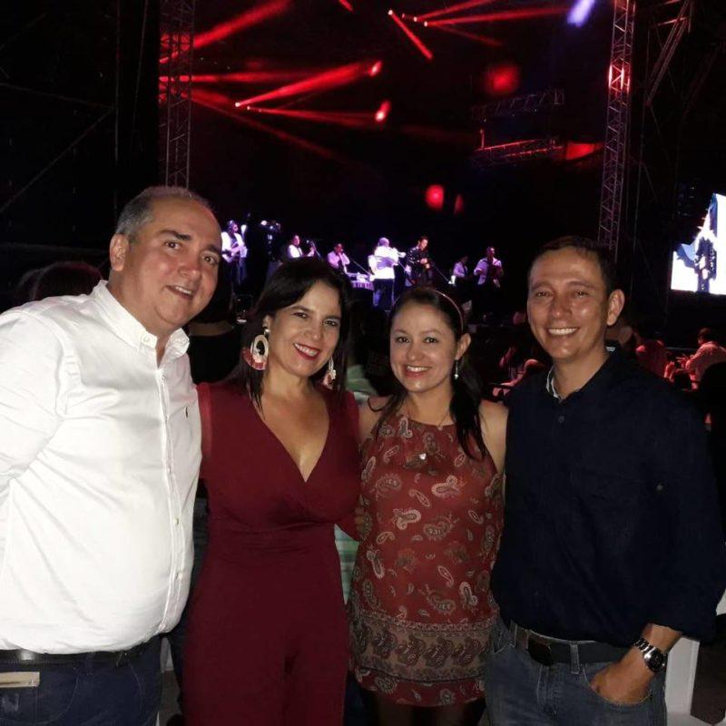 Nicolás Tarazona, Luz Estela Córdoba, Lida Ramírez y Alexander Jaimes. - Suministrada / GENTE DE CABECERA