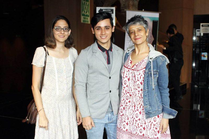 Camila Botero, Jéfferson Salcedo y Martha Galvis. - Jaime del Río/ GENTE DE CABECERA