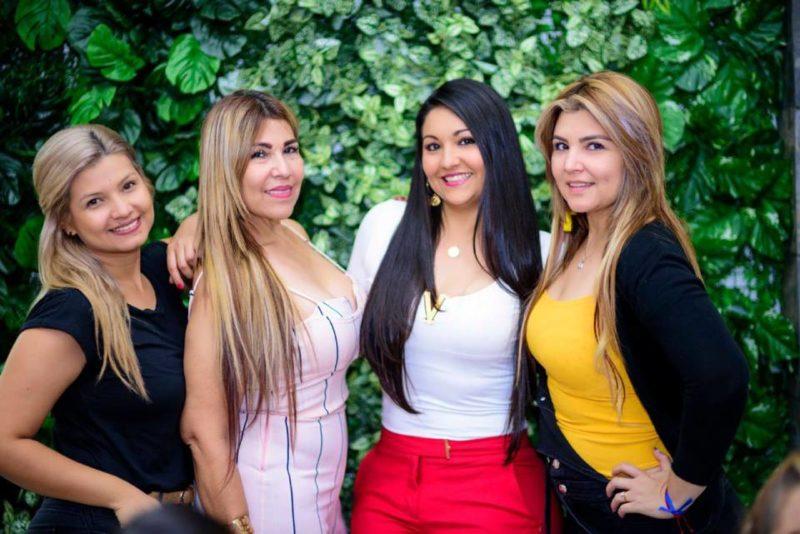 Karen Rincón, Flor Avella, Diana Rincón y Mar Rincón. - Suministrada / GENTE DE CABECERA