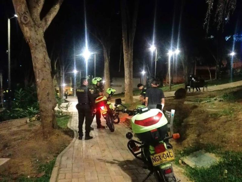 La Policía aseguró que realizan rondas constantes en los espacios públicos del sector de Cabecera para preservar la tranquilidad. - Suministrada / GENTE DE CABECERA