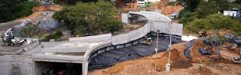 ¿Cuál es el estado de los trabajos del Intercambiador de Fátima?