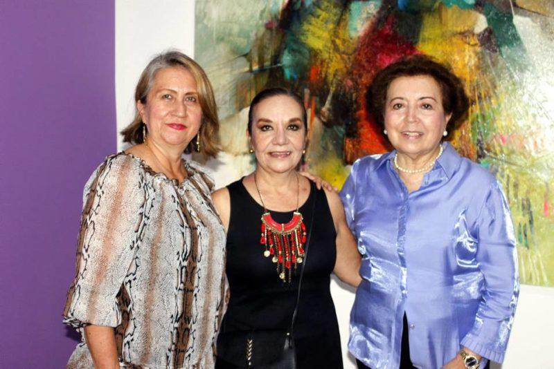 Claudia Azucena González, Clemencia Hernández y Gloria Oviedo. - Jaime del Río / GENTE DE CABECERA