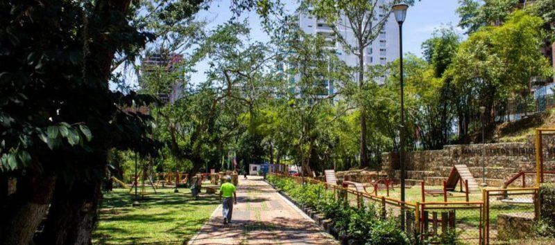 Tal y como sucedió con el parque La Flora, el parque Carlos Virviescas fue entregado en comodato a la Alcladía de Bucaramanga por cinco años. - Suministrada / GENTE DE CABECERA