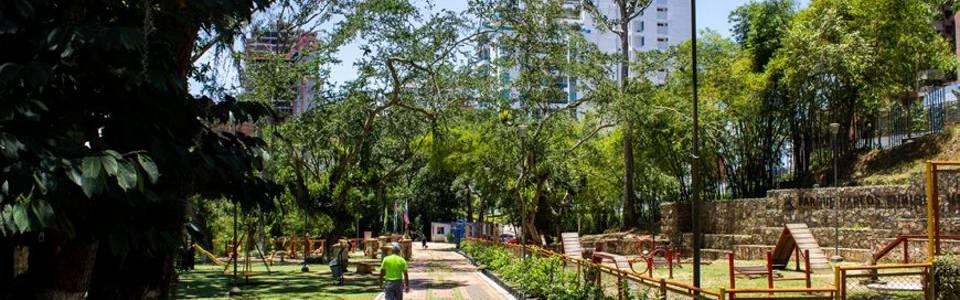Alcaldía de Bucaramanga, nuevo administrador del parque Carlos Virviescas