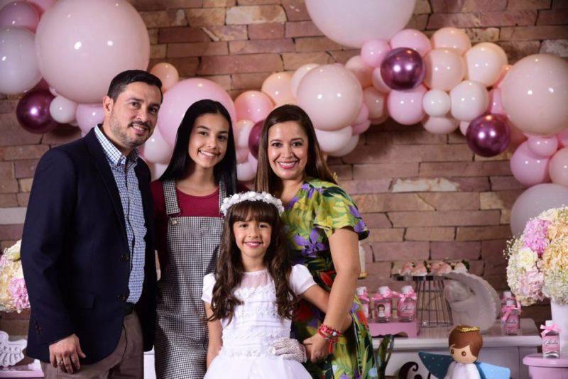 José Luis Galvis Claro, Violeta Galvis Rueda, Gabriela Galvis Peñaloza y Paola Andrea Peñaloza. - Suministrada / GENTE DE CABECERA