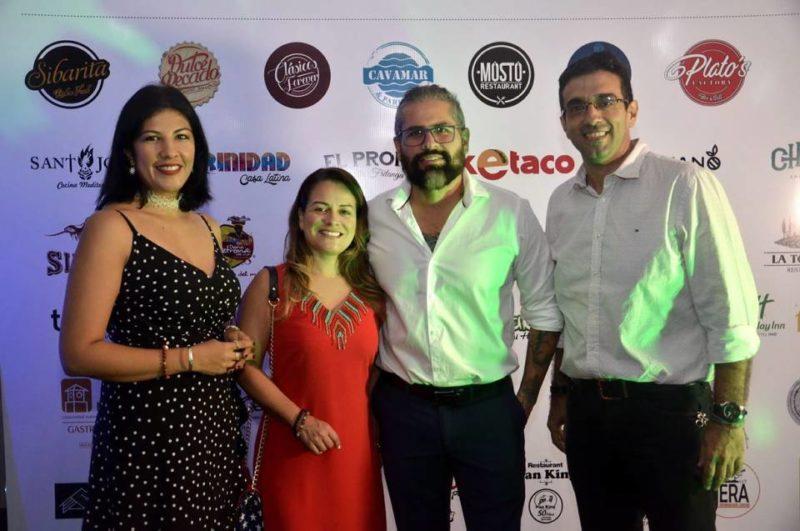 Érika Rincón, Claudia Prieto, Esteban Vargas y Manuel Carrascal. - Fabián Hernández / GENTE DE CABECERA