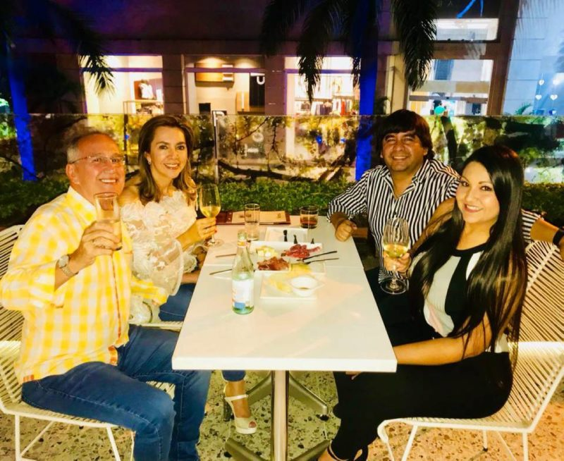 Isidro Rodríguez, Claudia Arias, Óscar Mogollón y Diana Rincón. - Suministrada / GENTE DE CABECERA