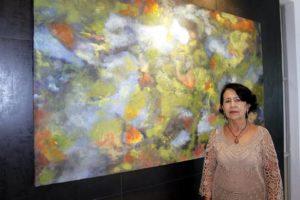 Si desea conocer más de las obras de Graciela Sanzón o adquirir una de sus pinturas, puede conctactarla al celular 301578 1647. - Jaime del Río / GENTE DE CABECERA