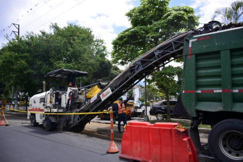 El proyecto está a cargo de las empresas contratistas Asfaltar y Pavimentos Andinos S.A. - Miguel Vergel / GENTE DE CABECERA
