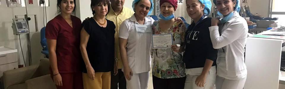 Luz Stella venció el cáncer