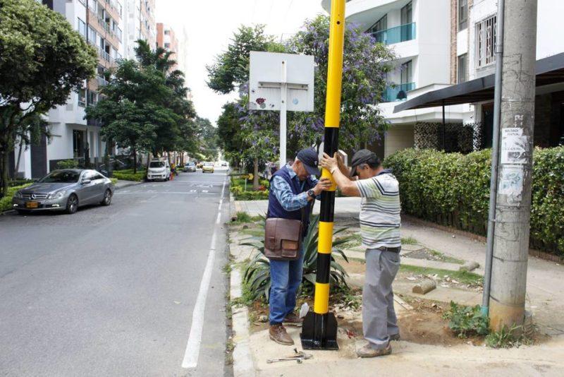 El contrato para la instalación de los semáforos en Cabecera y otro más en el barrio El Mutis, tuvo un valor cercano a los $750 millones. - Jaime del Río / GENTE DE CABECERA