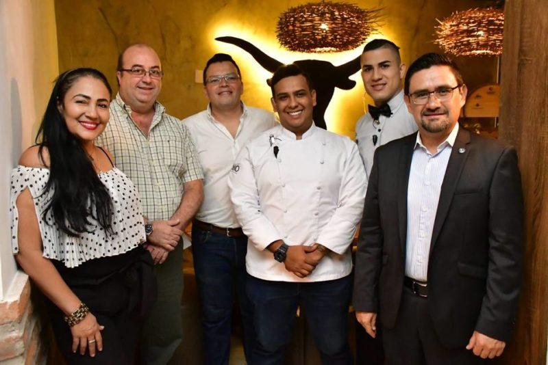 Adriana Colmenares, Alberto Ordoñez, Jorge Cañón, Luis García, Alexander Rueda y Gustavo Abril. - /GENTE DE CABECERA