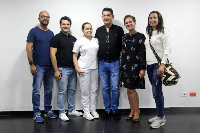 Sergio Rueda, Jefferson Reyes, Andrea Buitrago, Ciro Caballero, Myriam Savard-Lajeunesse y Olga Patricia Ramírez. - Fabián Hernández / GENTE DE CABECERA