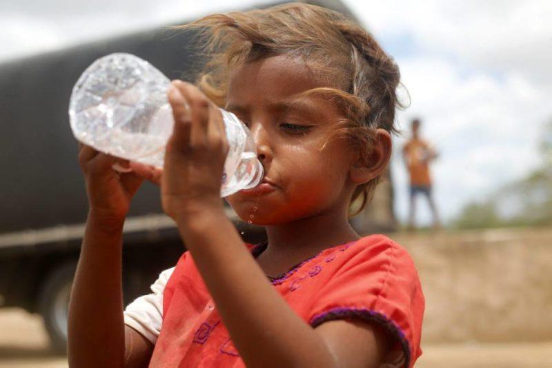 Alrededor de 1.800 niños de las 23 comunidades Wayúu de la Alta Guajira se verán beneficiados con las ayudas que se recolecten hoy y mañana. - Suministrada / GENTE DE CABECERA