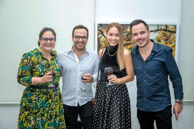 Melissa García Neira , Juan Sebastián Galvis Adarme, Claudia Carreño y Juan Diego Pinzón Ortiz. - Suministrada / GENTE DE CABECERA