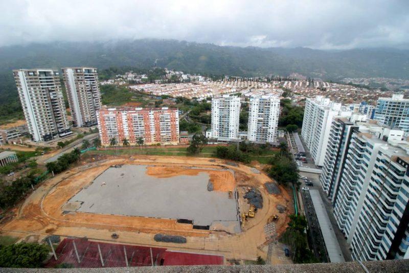 Con la remodelación de la pista de atletismo este escenario podrá ser sede de competencias nacionales e internacionales de alto rendimiento. - Fabián Hernández / GENTE DE CABECERA