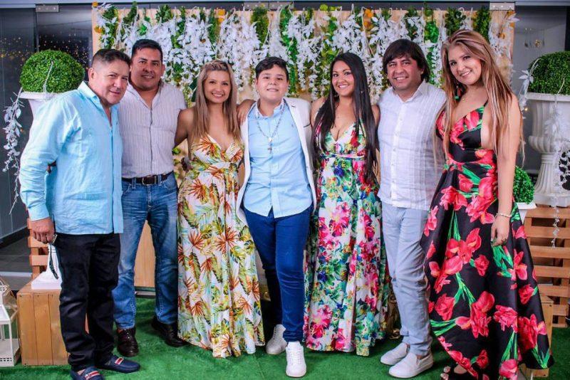 Octavio Muñoz, Omar Rincón, Karen Rincón, Nicolás Muñoz, Diana Rincón, Óscar Mogollón y Mar Rincón. - /GENTE DE CABECERA