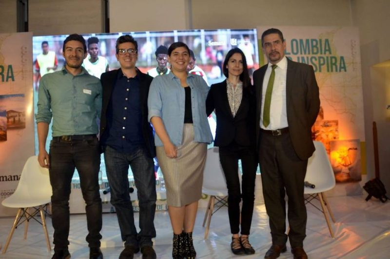 Giovani Espinel, Fabián Martínez, Laura María Marín, Julieta Duque y Cesar Augusto Serrano. - /GENTE DE CABECERA