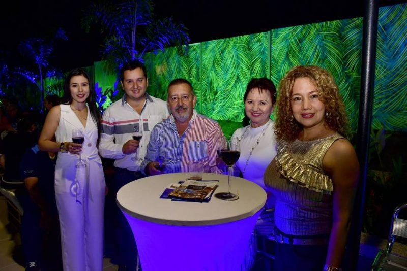 Angela Patricia Ortíz, Leonardo Wandurraga, Carlos Wandurraga, Olga de Wandurraga y Piedad Bayona. - Miguel Vergel / GENTE DE CABECERA